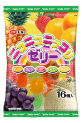 七尾製菓のニコニコニッコリゼリー16個