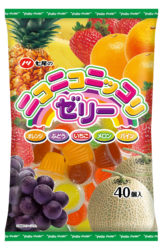 七尾製菓のニコニコニッコリゼリー40個